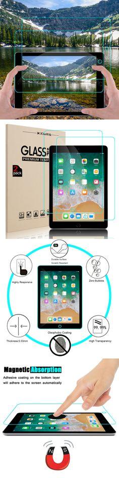 Pro 9.7 Air 2 /& 1 INKUZE HD Clear Screen Protector Guard Film For iPad 9.7