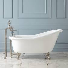 57 inch long clawfoot tub