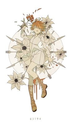 Puras imagenes del anime de Yakusoku no Neverland (約束のネバーランド) # De Todo # amreading # books # wattpad Anime W, Fanarts Anime, I Love Anime, Anime Art Girl, Kawaii Anime, Anime Characters, Terra Do Nunca, Dark And Twisted, Izu