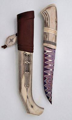 Puukko with bone handle and sheath | Suomen Puukkoseura ry