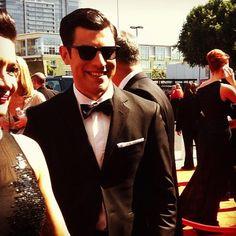 Max Greenfield at #Emmys Awards 2012 #NewGirl