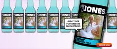 Jones Soda lets you choose your flavor, upload a photo + a special message! Think of the possibilities! And it tastes awesome, and a Seattle local.