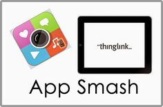 6 Amazing App Smash Examples to Inspire Creativity from Thinglink blog and Susan Oxnevad
