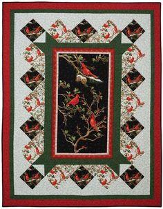 Cardinal Rule Quilt Kit | Keepsake Quilting