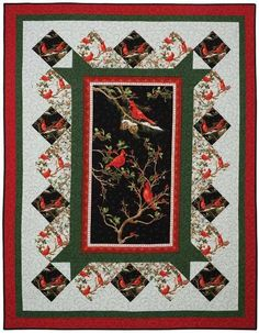 The Cardinal Rule Wallhanging Quilt Kit <br><font color=red ... : quilt panel kits - Adamdwight.com