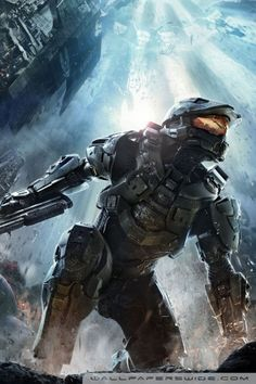 Halo 4 master chief can't wait till this game comes out