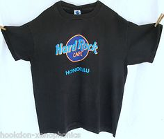 vintage 90s HARD ROCK CAFE Honolulu HAWAII t-shirt | size XL Made In USA