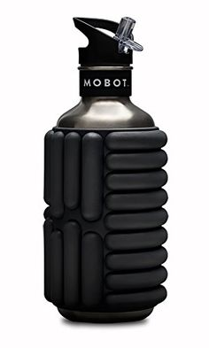 Mobot  Adams Ale  40 oz  Stainless Steel Foam Roller Water Bottle  The Travel Mobility Bottle *** Click on the image for additional details. (Note:Amazon affiliate link)