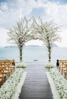 New garden wedding aisle decor outdoor ceremony 33 ideas Beautiful Wedding Venues, Perfect Wedding, Dream Wedding, Trendy Wedding, Wedding Arches, Floral Wedding, White Wedding Arch, Wedding Flowers, Wedding Colors