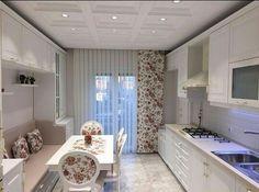 White kitchen provance intetior design Идеи дизайна интерьера (@interer.dekor) в Instagram: «Очень симпатичная кухня Подпишисьна @interer.dekor Telegram Интерьер Декор T.me/interer_dekor…»
