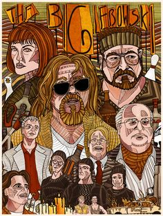 Coen Brothers movies serie The Big Lebowski