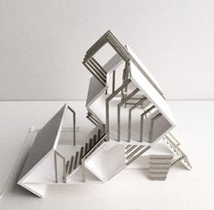 Image may contain: indoor Concept Models Architecture, Maquette Architecture, Architecture Model Making, Conceptual Architecture, Paper Architecture, Architecture Sketchbook, Pavilion Architecture, Futuristic Architecture, Amazing Architecture