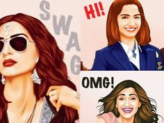 New emojis featuring the 'Neerja' star Sonam Kapoor
