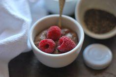 Smooth and Creamy Chocolate Chia Pudding