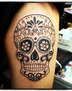 Download Free Skull Tattoos for Men | Tattoo Ideas Gallery & Designs 2016 – For ... to use and take to your artist.