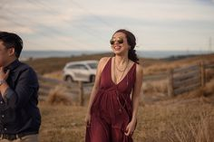 Jimmy and Kyla's pre-wedding photos in Christchurch's Port Hills