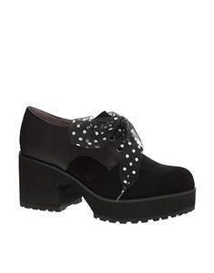 Image 1 ofShellys London Vraspir Platform Lace Up Shoes