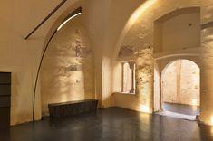 dominican monastery turned performance center by enota in ptuj, slovenia - designboom   architecture & design magazine