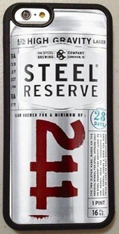 211 Steel Reserve iPhone Case Cover Beer Malt Liquor Phone 6 + 6s 5s 5c 4s 4  #UnbrandedGeneric