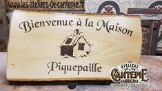 Gravure bois Piquepaille Gravure Laser, Made In France, Decoration, Glass Etching, Ornament, Decor, Decorations, Decorating, Dekoration