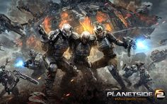 planetside 2 ps4 wide - cool wallpapers download