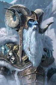 Ymir foi o primeiro ser a existir e também o primeiro Jotun! Ele foi criadoa partirdo encontro das chamas de Muspelheim com os riosde gelo de Nifheim! Quando os dois mundos