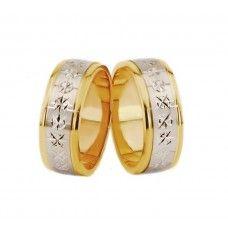 Verighete Aur Bicolor Verighete Wedding Rings Engagement Rings