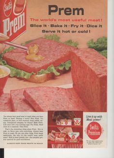 1962 lunch meat sandwich