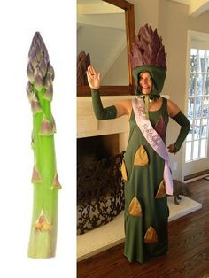 Asparagus Costume by SewBosse