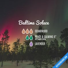 Bedtime Solace - Essential Oil Diffuser Blend