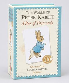 Take a look at this The World of Peter Rabbit Postcard Set on zulily today!