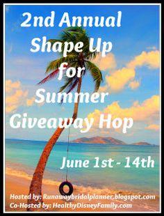 Runaway Bridal Planner: Shape Up For Summer Giveaway Hop