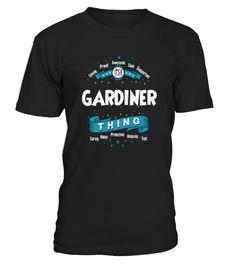 Top Shirt for GARDINER Original Irish Legend Name  front  Funny Garden T-shirt, Best Garden T-shirt