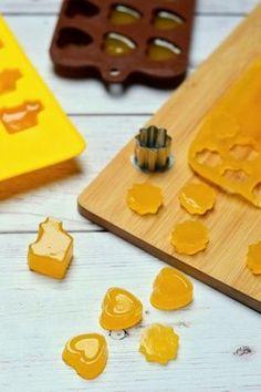 Mangós-citromos gumicukor recept Veggie Chips, Lollipop Candy, Low Carb Sweets, Food Crafts, Sweet Desserts, Coffee Break, Paleo Recipes, Healthy Snacks, Granola
