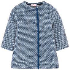 Il Gufo - Smart jacquard knit coat - 167891