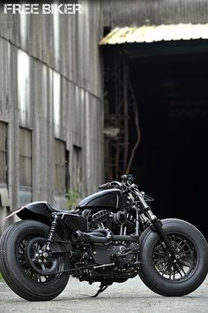 Handmade re-noog - eeeed Sportster. Sweet!