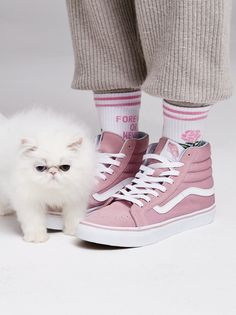 Sk8-Hi Slim Hi Top Sneaker | the kitty is an essential accessory
