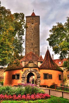 Rothenburg, Germany by Jumpin2009, via Flickr
