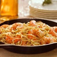 Kickin' Skillet Scampi with Linguine by Michelle