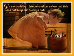 We can build barrier...