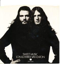 """LON & DEREK VAN EATON """"Sweet Music"""" US issue picture sleeve."""