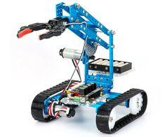 Makeblock DIY Ultimate Robot Kit - Premium Quality - Robot - STEM Education - Arduino - Scratch - Programmable Robot Kit for Kids to Learn Coding, Robotics, Electronics and Have Fun Linux, Arduino Programming, Robot Kits For Kids, Robots For Kids, Programmable Robot, Learn Robotics, Mobile Robot, Bluetooth, Educational Robots