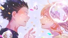 A Silent Voice Anime Ishida and Nishimiya Wallpaper