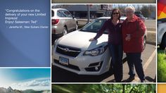 Dear Janetha Mikita   A heartfelt thank you for the purchase of your new Subaru from all of us at Premier Subaru.   We're proud to have you as part of the Subaru Family.
