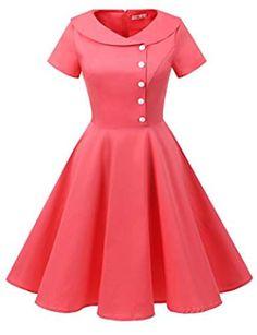 0cfb2e193f5e2 81 Best 1950 dresses images in 2018 | Vintage dresses, Retro outfits ...
