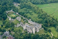 Arundel Castle -  in Sussex is often said to be home to just four ghosts but there are more ghostly goings on between its ancient walls than first meets the visitor.