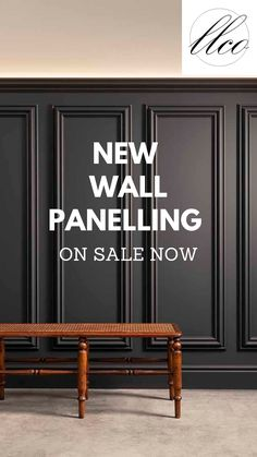 Introducing a stunning, designer and easy to install range of wall panelling to add classic look to your room or space. This collection of wall panels are ready-made panels boasting detailed design features and a beautifully smooth primed finish ready for painting. The panels are lightweight, easy and fast to install and will rapidly transform any room into a wow-factor space. Now available to purchase online in a range of complimentary styles. Interior Walls, Kitchen Interior, Wall Panelling, Lounge Ideas, Dining Room Design, New Wall, First Home, Interior Design Inspiration, Classic Looks