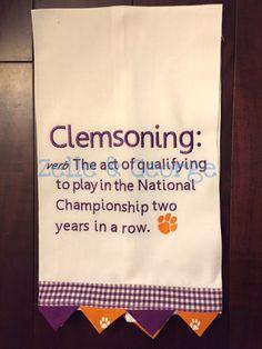 Clemsoning