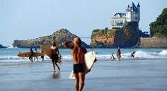biginner waves for surfing in france   Surfholidays.com - Beginner Surf Beaches France