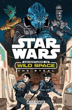 Star Wars: Adventures in Wild Space: The Steal  It is a dark time in a galaxy far, far away….  When the parents of Milo and Lina Graf are abducted by agents of the evil Empire, the children must undertake a perilous journey across the unknown reaches of Wild Space to rescue them – and to discover hope for the future.